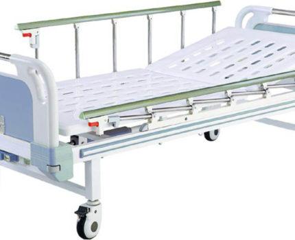 Łóżko medyczne 2 segmenty B-21-2