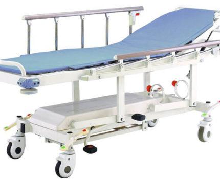 Wózek do szpitalny do przewozu pacjenta E-2